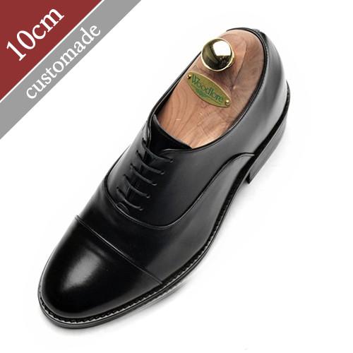 10cm增高鞋直尖牛津(EL0116BK)