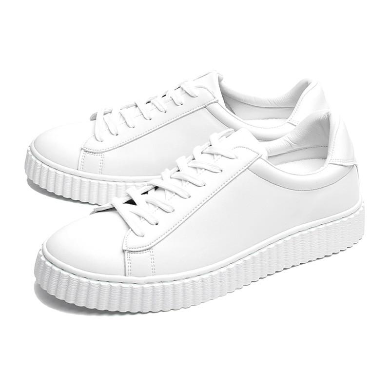 5.5cm Adrian白领底帆布鞋(CL0018)