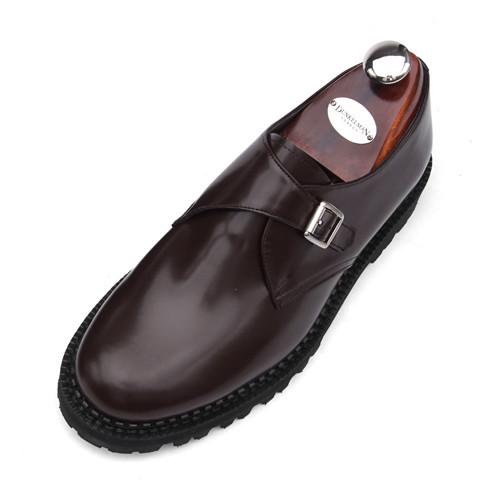 7cm Komando Monk系带手工鞋(EL0159WN)