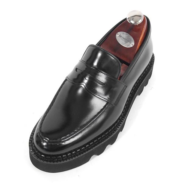 8cm Komando便士活套手工鞋(EL0170BK_Comax)