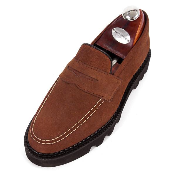 8cm Comando便士活套手工皮鞋(EL0170SBR_Comax)