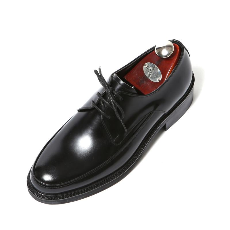 7.5cm Yufty Oxford Derby手工鞋(EL0174BK)