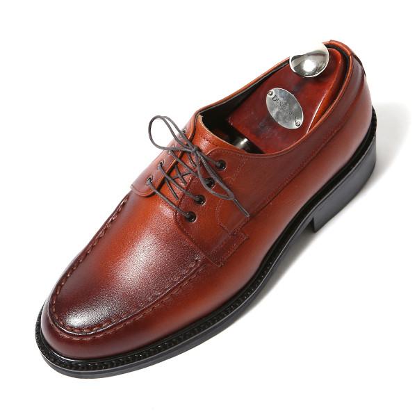 7.5cm팁Upt Derby牛津布手工鞋(EL0175BR)