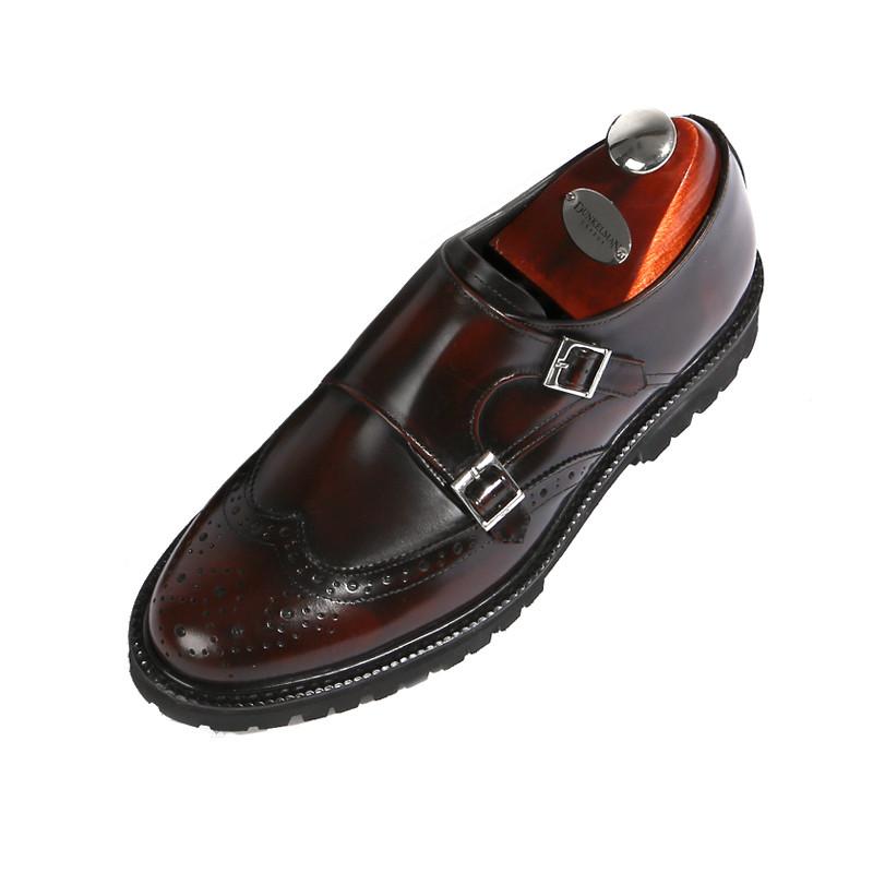 8cm Wingtip双僧带手工鞋(EL0179WN)