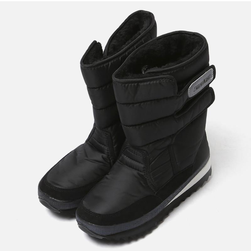 5cm黑滑雪毛皮草凉靴(ZE0183)