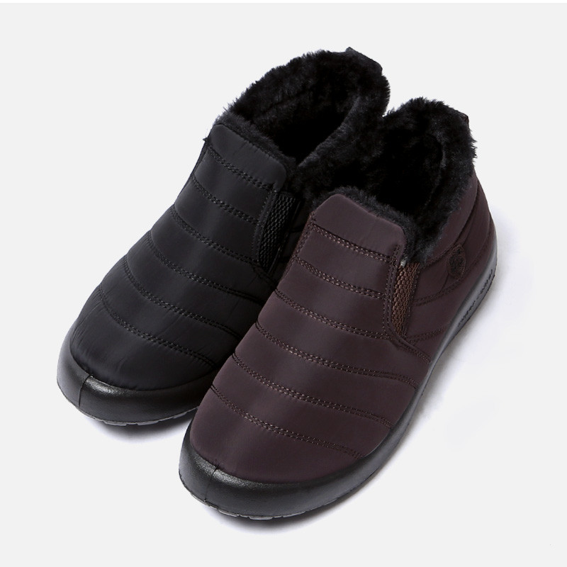 3.5cm羽绒服平底鞋(ZE0187)