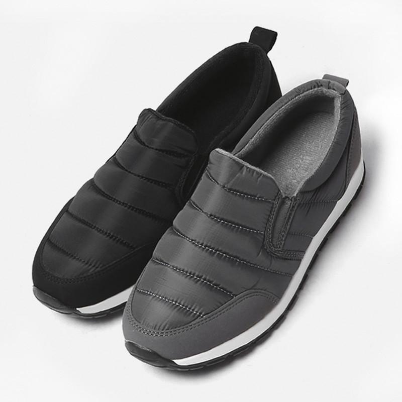 3.5cm冬季填充紧身布布鞋(ZE0189)