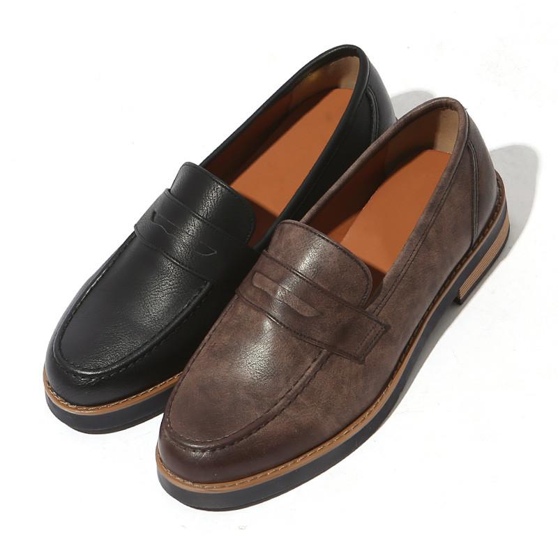3.5cm现代日常便士乐福鞋(ZE0194)
