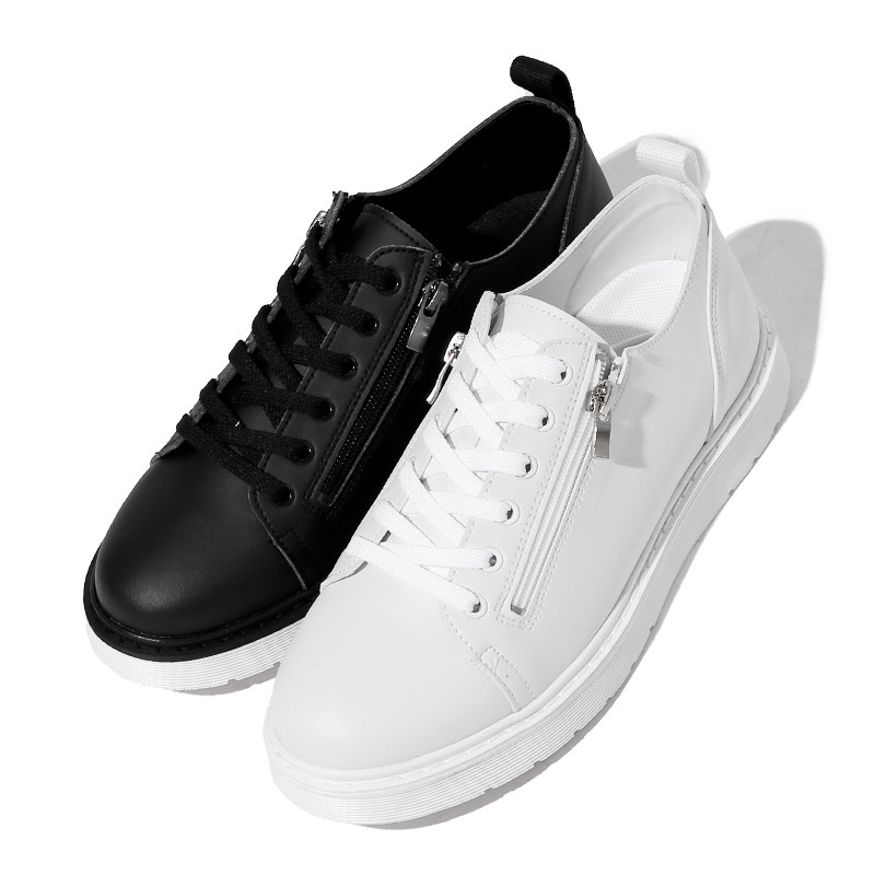 3.5cm烷烃拉链底帆布鞋(ZE0199)