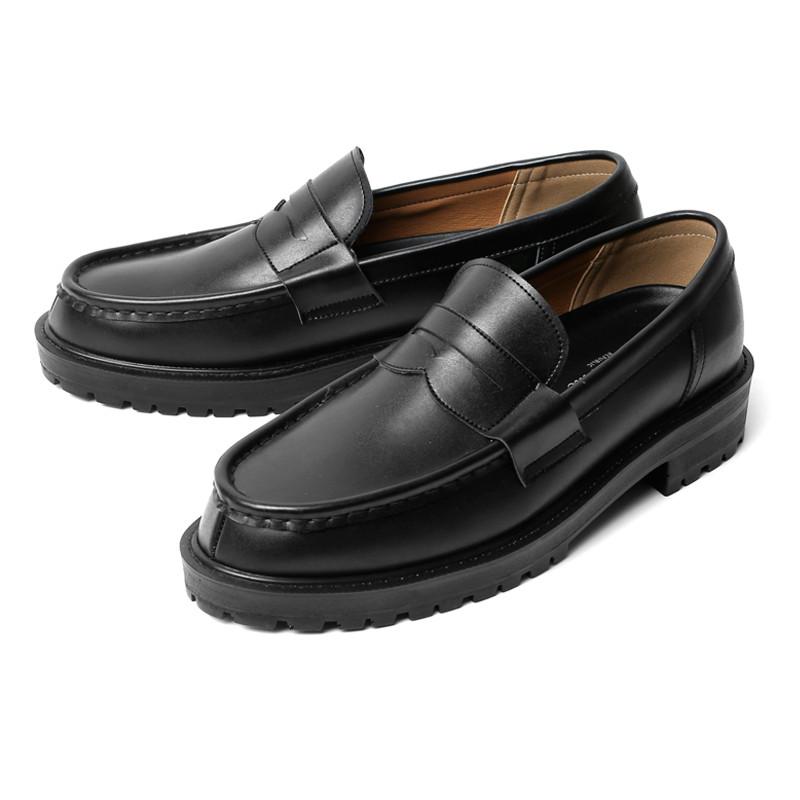 4.5cm真皮便士乐福鞋(EMBLE_CR0001)