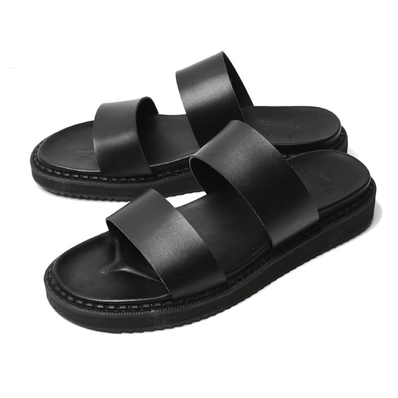 4cm真皮线拖鞋(TWIN_CR0007)