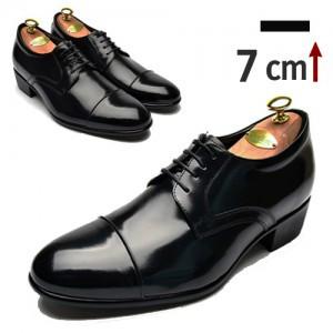 7cm增高鞋Straight Tip正统鞋(ZE0022BK)