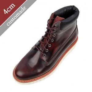 4cm增高鞋普通电推剪马丁鞋手工鞋(EL0106WN)