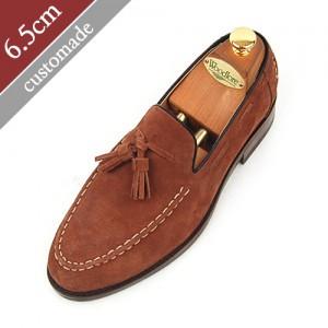 6.5cm增高鞋TESLER ROPER手工鞋(EL0043BR)