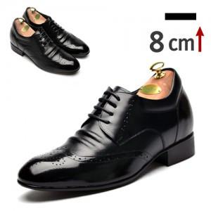 8cm Wingtip德比鞋(ZE0001BK)