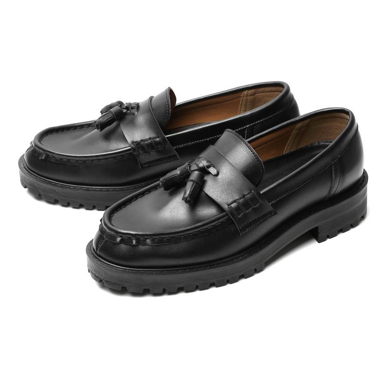 4.5厘米真皮系绳乐福鞋(FORD_CR0008)